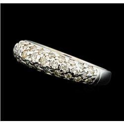0.50 ctw Diamond Band - 14KT White Gold