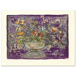 Floral Mystic by Hibel (1917-2014)