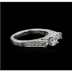 18KT White Gold 1.25 ctw Diamond Ring