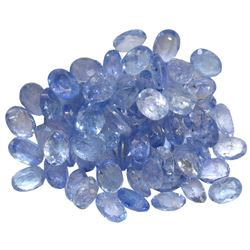 12.73 ctw Oval Mixed Tanzanite Parcel