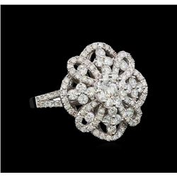 1.62 ctw Diamond Ring - 14KT White Gold