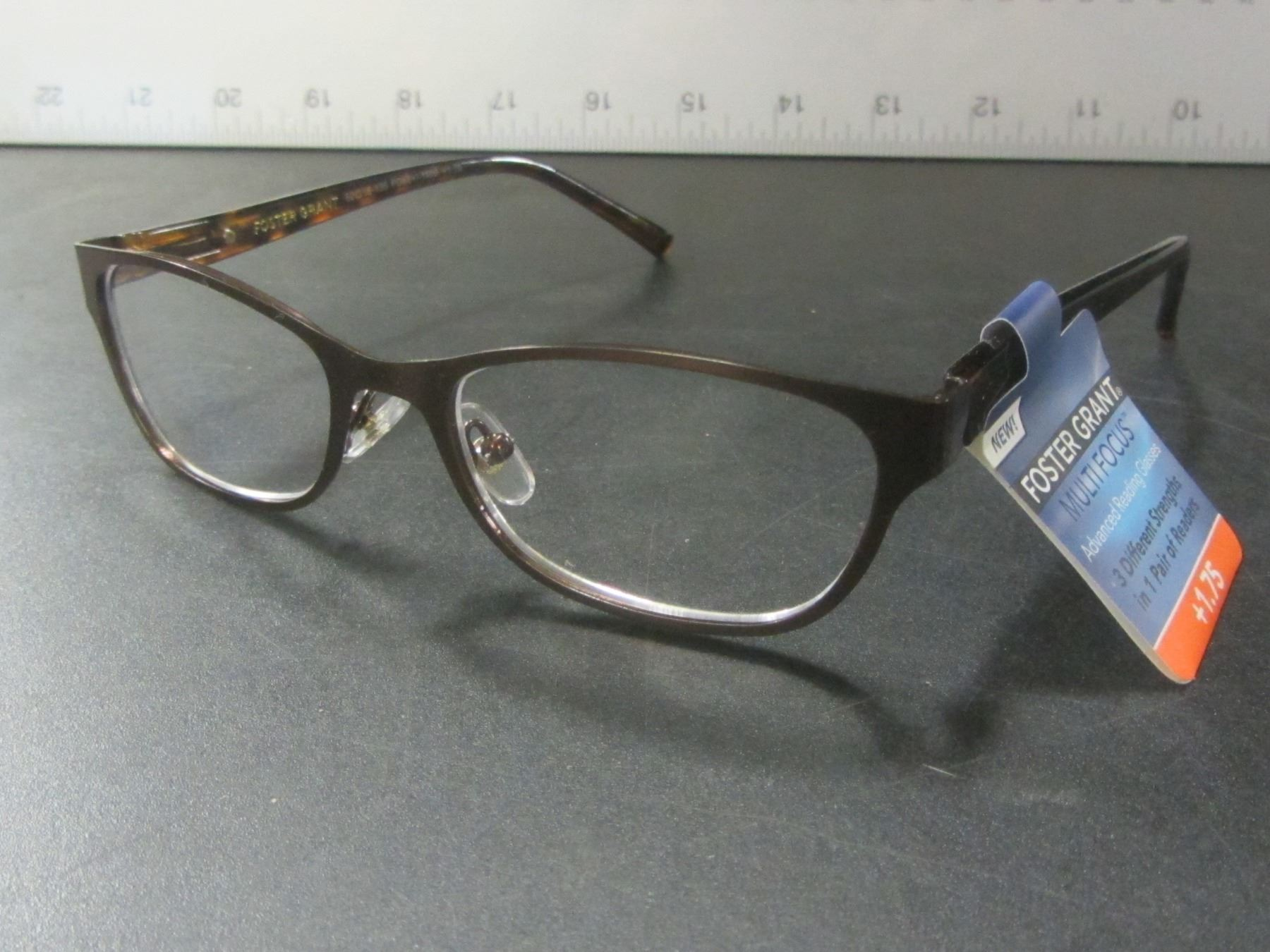 1bec624eaf4 Image 1   New Foster Grant + 1.75 multi focus advanced reading glasses    35.00 tags