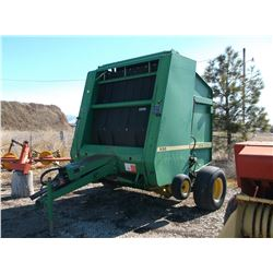 John Deere 530 Round Baler- Good Condition- Controls- Extra Belts- Used Last Year