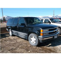 1996 Chevrolet  1500 Suburban- 4X4- Automatic- Runs and Drives Great- Good Rubber