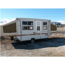 1984 Palomino Hard Sided Pop-Up Camp Trailer- 13' Towing- 20' Set Up- Fair Condition- Clear MT Title