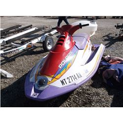 1996 SL780 Polaris Wave Runner- Good Condition- Cover- Clear MT Title
