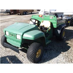 1996 John Deere Gator- 2WD- 2 Extra Tires- Dump Bed- Runs and Drives- Rough Condition- No Title