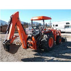 2000 Kubota 4310 4X4 Tractor- Woods 9000 Backhoe- Kubota LA681 Loader With bucket- 2190 Hours