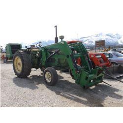 4010 John Deere Tractor- Diesel- Quad Shift- Buhler Allied 595 Loader- 3 Point- PTO- Decent Rubber
