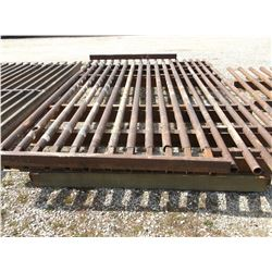 """14' X 8' Cattle Guard- 2.5"""" and 3"""" Pipe"""