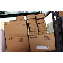 LOT OF XEROX DRUMS AND TONERS