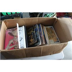 BOX OF DUNGEONS AND DRAGONS AND OTHER ROLEPLAYING MANUALS