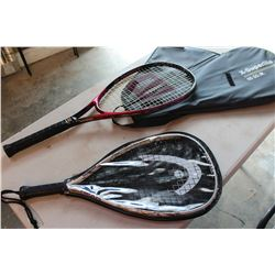 TENNIS AND SQUASH RACQUET