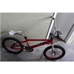 RED AND WHITE JOKER BIKE