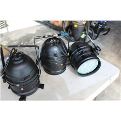 THREE LED SPOTLIGHTS