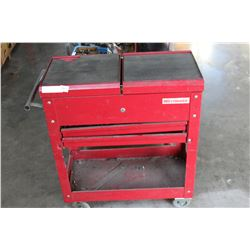 WESTWARD RED METAL ROLLING TOOL STATION