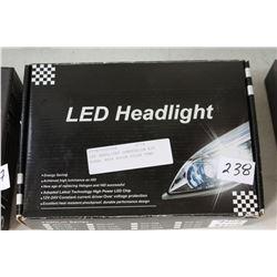 NEW LED HEADLIGHT CONVERSION KIT MODEL 9004 6000K COLOR TEMP