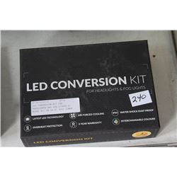 LED CONVERSION KIT FOR HEADLIGHTS AND FOG LIGHTS S1 MODEL H11 PN GP-S1 3500 LUMEN COLOR TEMP 3000K-1