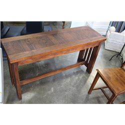 WOOD SOFA TABLE