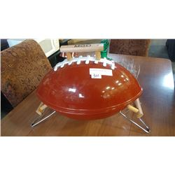 MGD FOOTBALL CHARCOAL BBQ