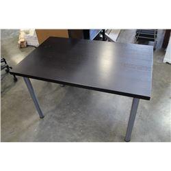IKEA ESPRESSO FINISH TABLE