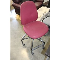 ROLLING GAS LIFT OFFICE CHAIR