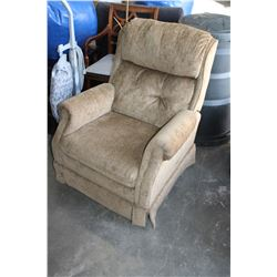 RECLINING UPOLSTERED ARMCHAIR