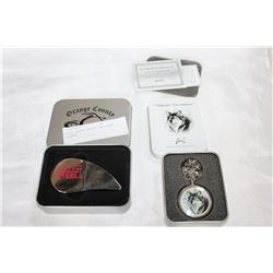 CASED POCKET WATCH AND CASED LIGHTER
