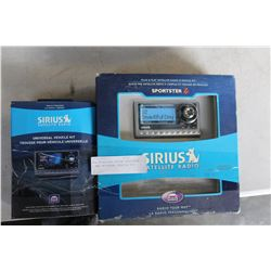 NEW OVERSTOCK SIRIUS SPORTSTER 4 WITH UNIVERSAL HOME KIT