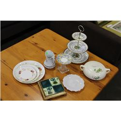 LOT OF VINTAGE CHINA