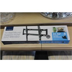 NEW OVERSTOCK 33-46 INCH INSIGNIA TILTING TV WALL MOUNT