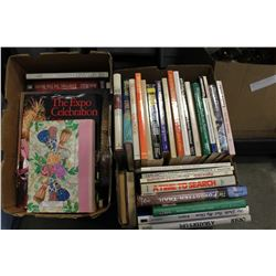 TWO BOXES OF HARDCOVER BOOKS