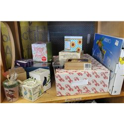 LOT OF AS NEW HOUSEWARES
