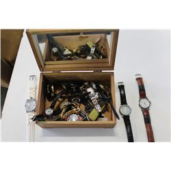 CASE OF MENS WATCHES