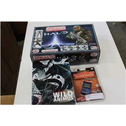 HALO MODEL MARIO GAMES AND BOXED SET