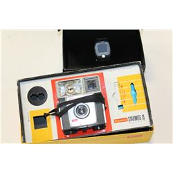 VINTAGE BOXED CAMERA AND NEW IN BOX WATCH