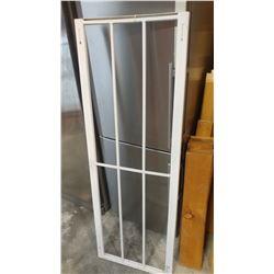 METAL WINDOW SECURITY BARS, ADJUSTABLE