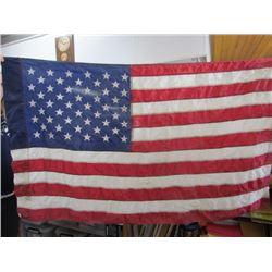 Usa Flag-Embroided Stars -Reinforced