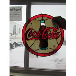 Coca Cola Stained Glass