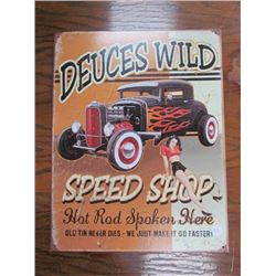 Dueces Wild Speed Shop Repro