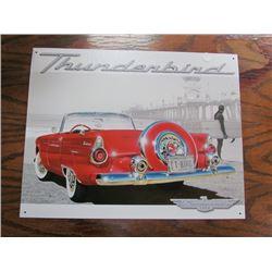 Ford Thunderbird Repro Tin Sign