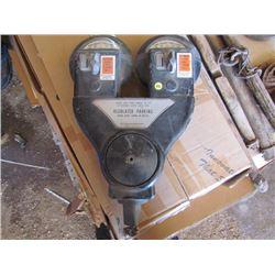 Double Head parking meter