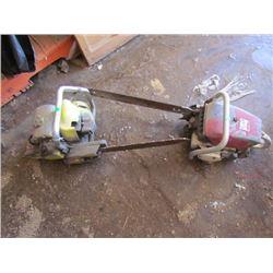 2 Chain saws – Macleods and SKIL