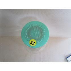 Macbick hospital medical medicine glass bottle  #9237