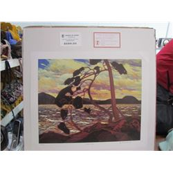 """Tom Thomson Limited Edition Unframed Print """"West Wind""""20x24"""