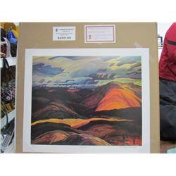 "Franklin Charmichael Limited Edition Unframed Print""autumn""20x24"