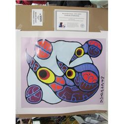 Norval Morrisseau Limited Edition Unframed Print *Water Damaged20x24