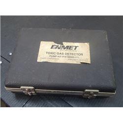 Enmet Toxic Gas Detector, Pump Kit P/N: 90000-111