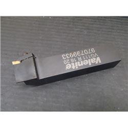 Valenite Indexable Lathe Tool Holder, P/N: VG111 R 16 20