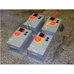 DAYKIN LTFS-01 INDUSTRIAL POWER TRANSFORMER DISCONNECT 480V QUANTITY BID: AMT X 4= TOTAL